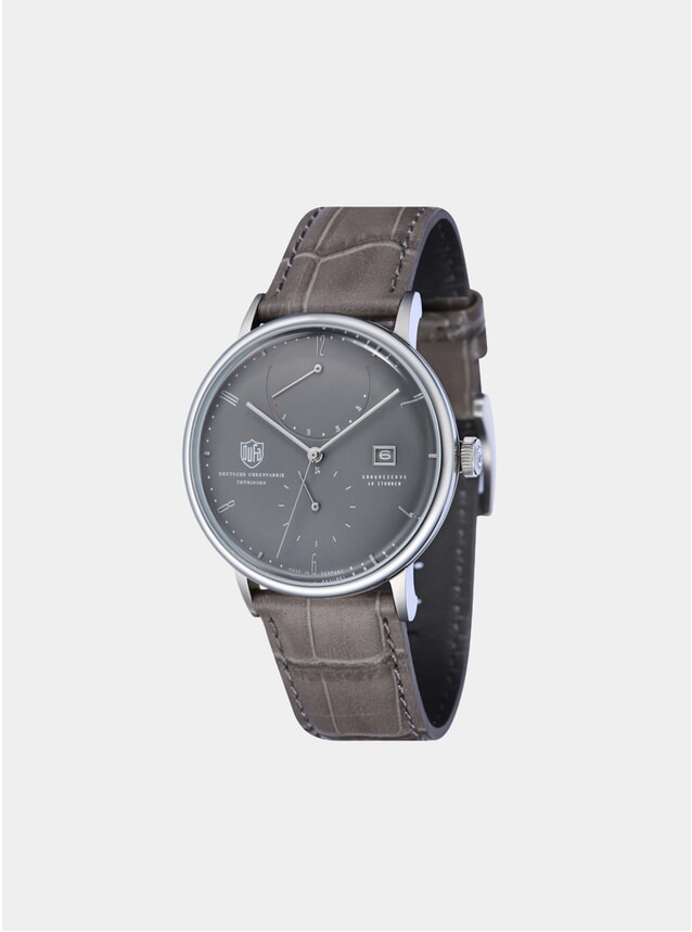 Albers Automatic Power Reserve Grey / Grey Watch