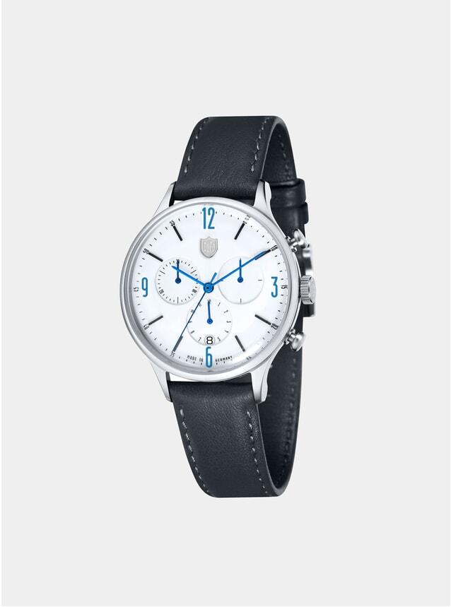 Van Der Rohe Chrono Black / White Watch