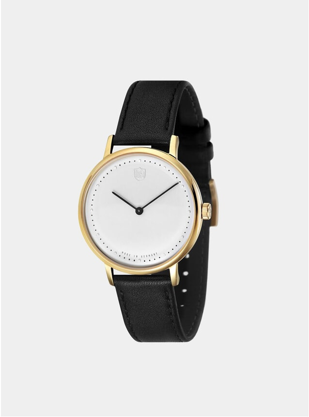 White / Black Gropius 2H Watch