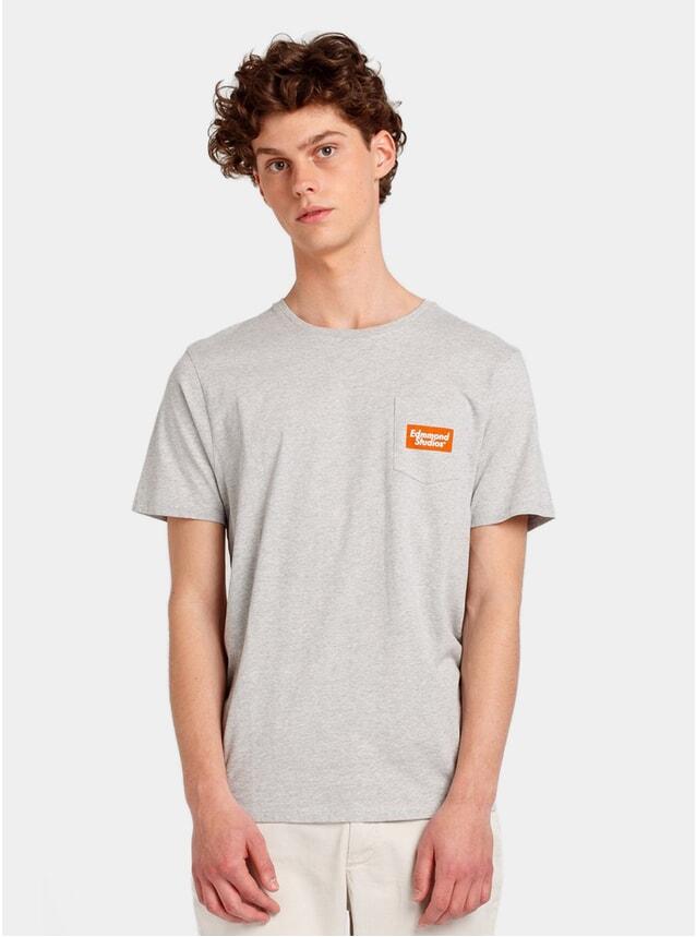 Grey Blooming T Shirt