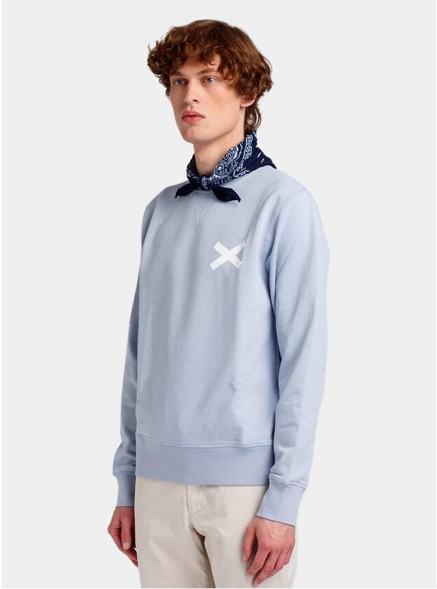 Light Blue Cross Sweatshirt