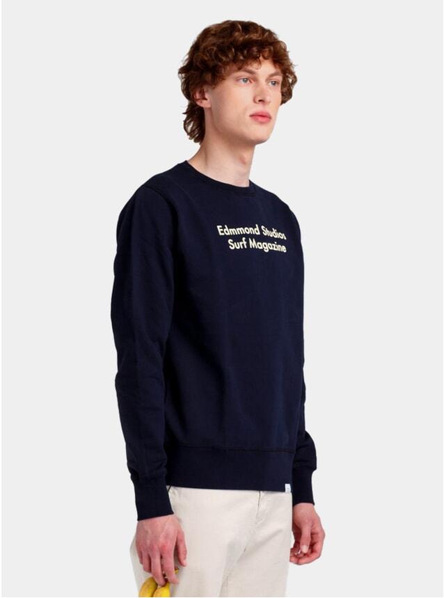 Navy Surf Magazine Sweatshirt