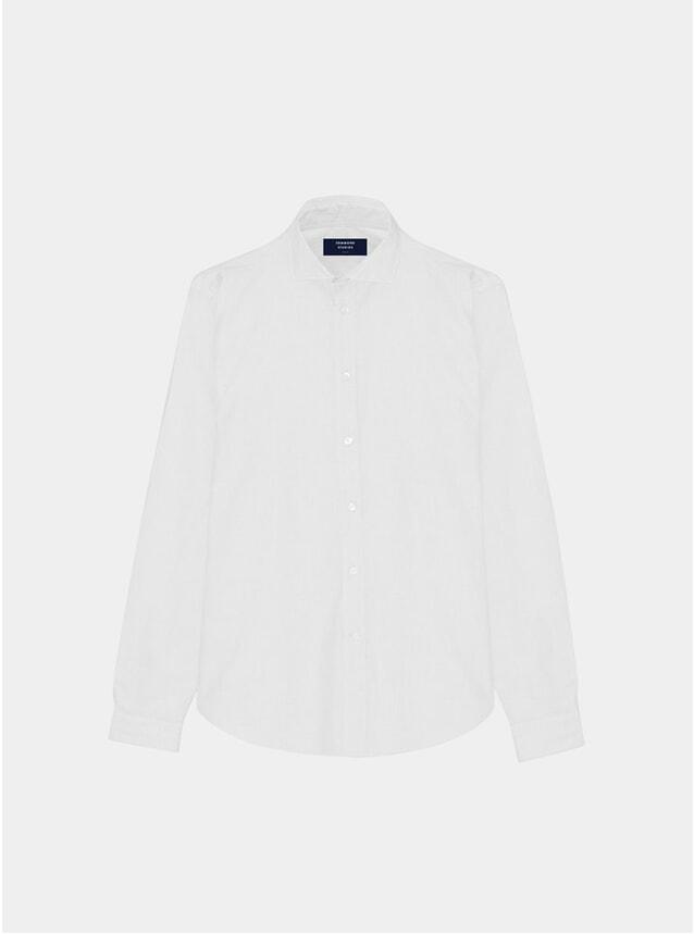 White Linen Gent Shirt