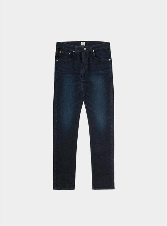 Dark Used Kaihara Modern Regular Tapered Jeans