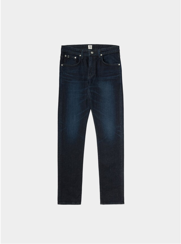 Dark Used Kaihara Modern Regular Tapered Jeans