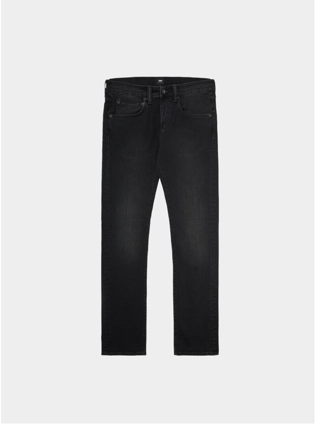 Mineral Wash Black ED-55 Regular Tapered Jeans