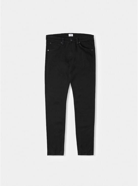 Rinsed Ink Black ED-85 Slim Tapered Jeans