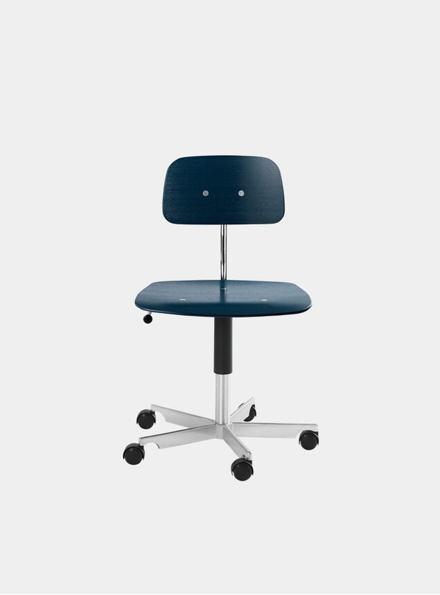 Midnight Blue Kevi 2533 Swivel Chair