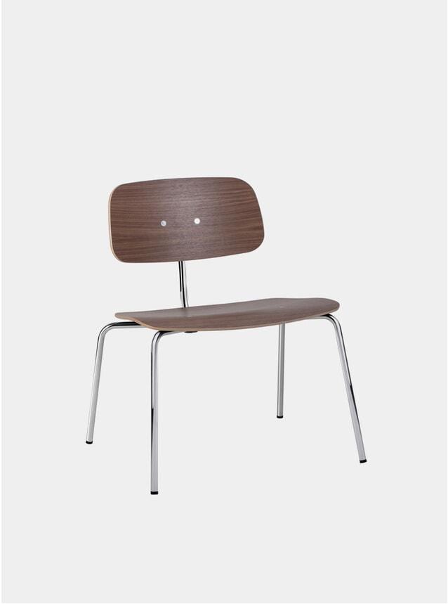 Walnut Kevi 2063 Lounge Chair