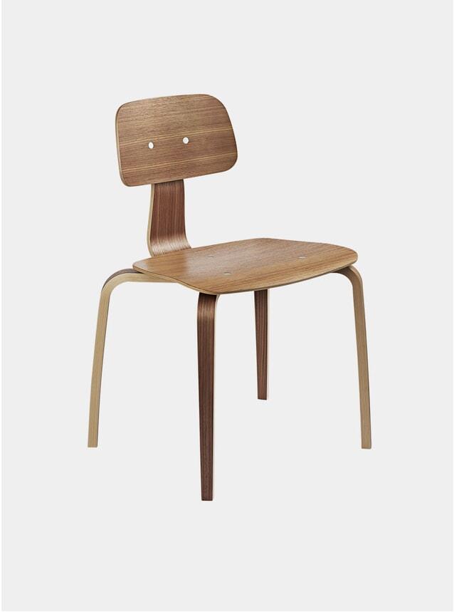 Walnut Kevi 2070 Chair