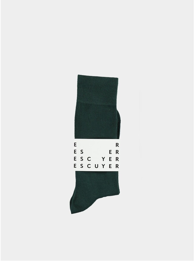 Duck Green Casual Socks