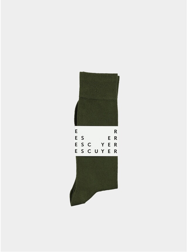 Khaki Casual Socks
