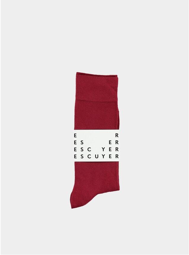 Light Burgundy Casual Socks
