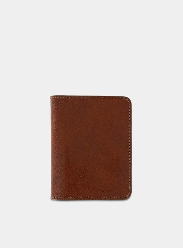 Light Brown Slim Wallet