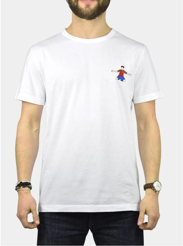 South Korea Embroidery T-Shirt