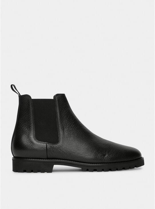 Black CB 01 Chelsea Boots