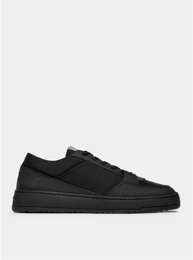 Black Cordura LT 03 Tech Sneakers