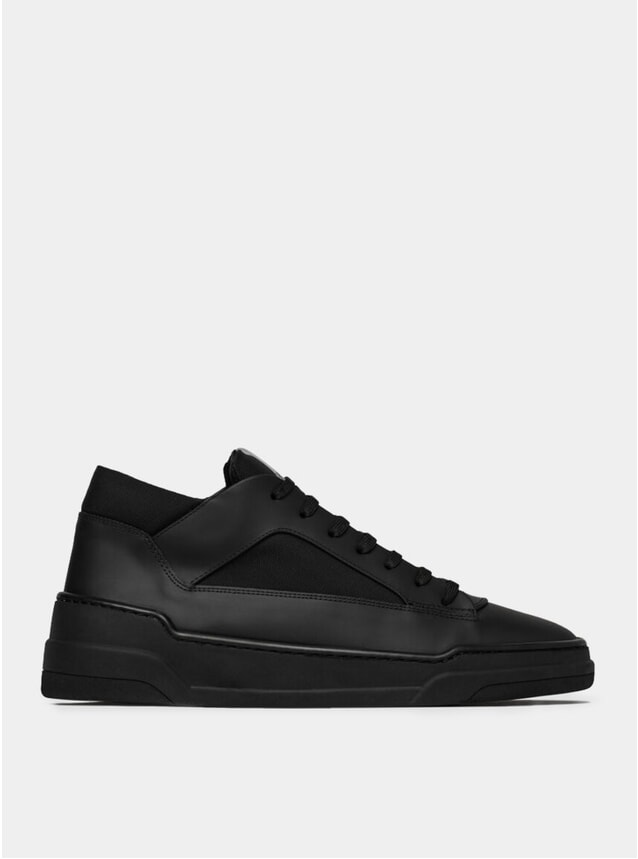 Black Cordura MT 02 Tech Sneakers