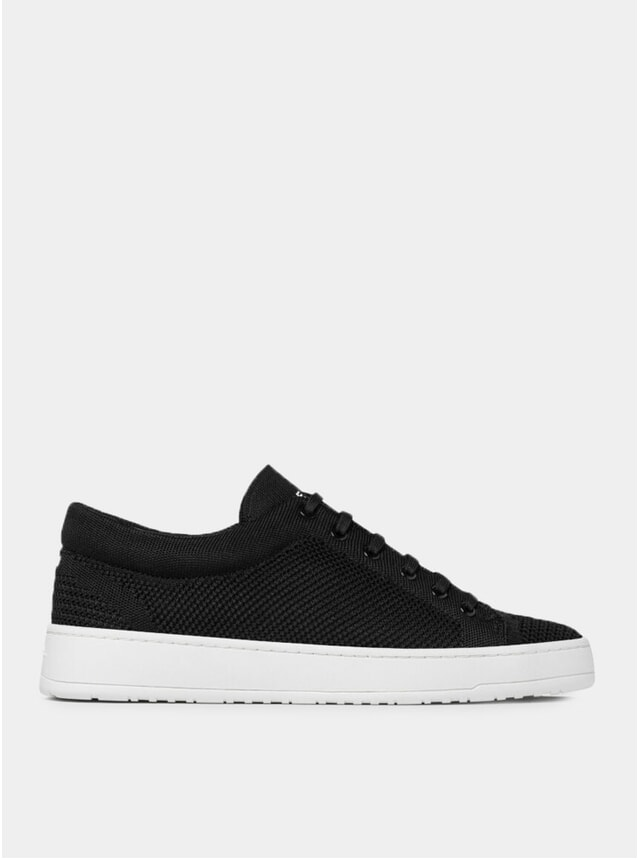 Black Knitted LT 01 Sneakers