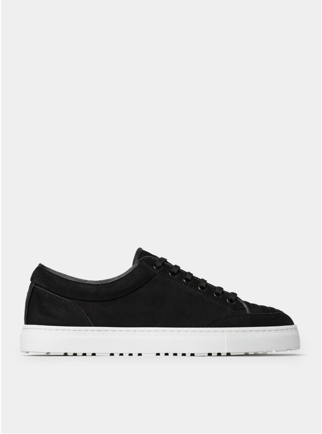 Black Ribbed LT 02 Sneakers