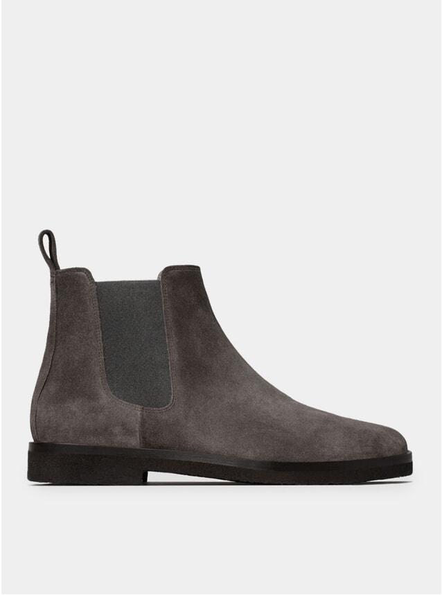 Charcoal CB 01 Chelsea Boots