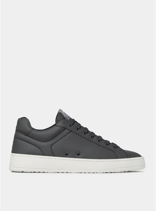 Charcoal LT 04 Rubberized Sneakers
