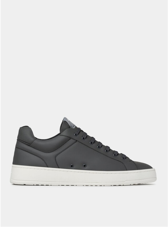Charcoal LT 04 Rubberized Sneakers