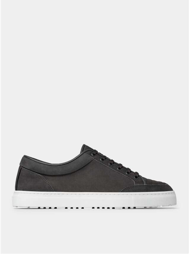 Charcoal Ribbed LT 02 Sneakers