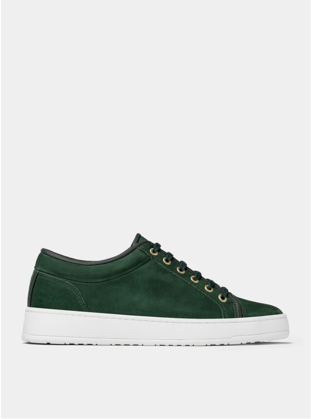 Money Green Waxed LT 01 Sneakers