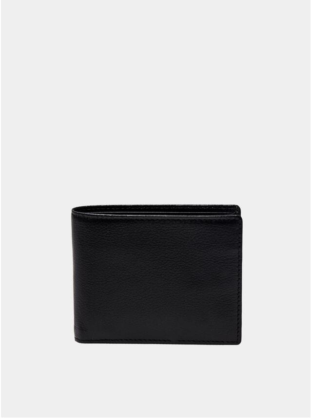 Black Capra Billfold Wallet