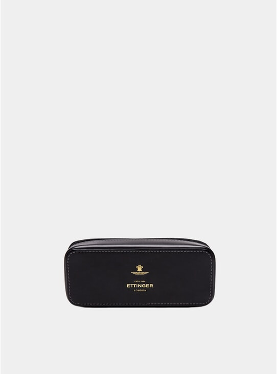 Black Large Travel Zip Box