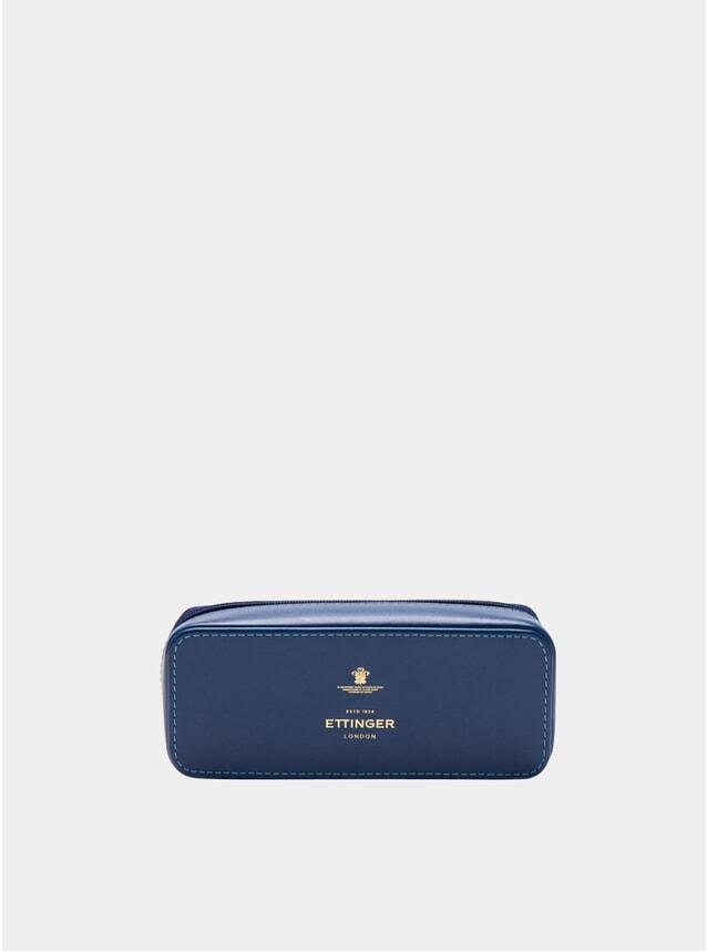 Blue Large Travel Zip Box