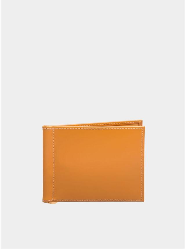 London Tan Money Clip Wallet