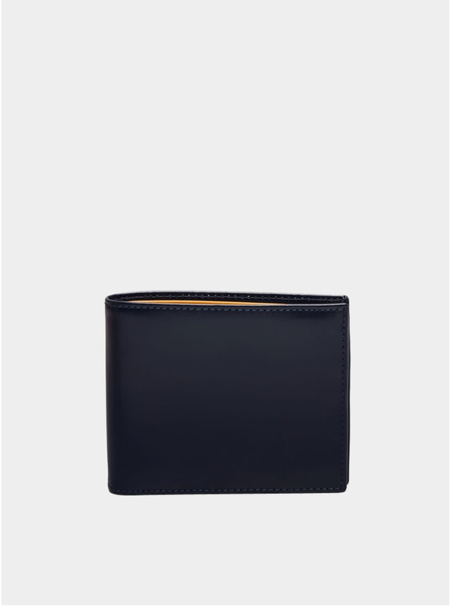Navy / London Tan 3 C/C & Purse Billfold Wallet