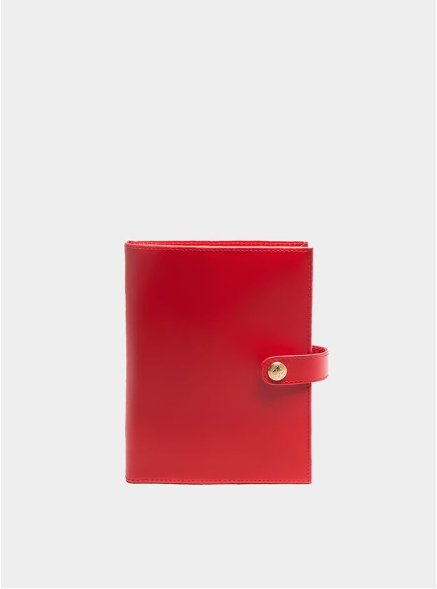 Red / London Tan Medium Notepad