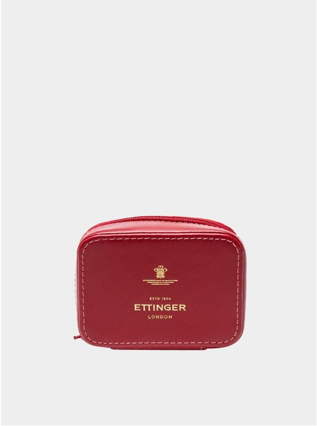 Red Travel Zip Box