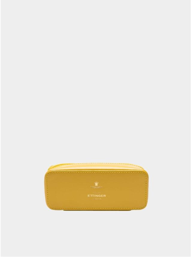 Yellow Large Travel Zip Box