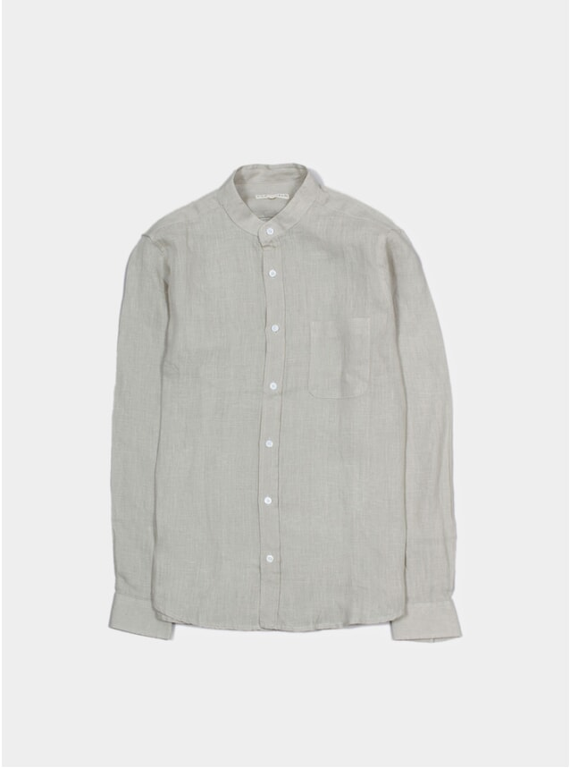 Agate Grey Linen Twombly Shirt
