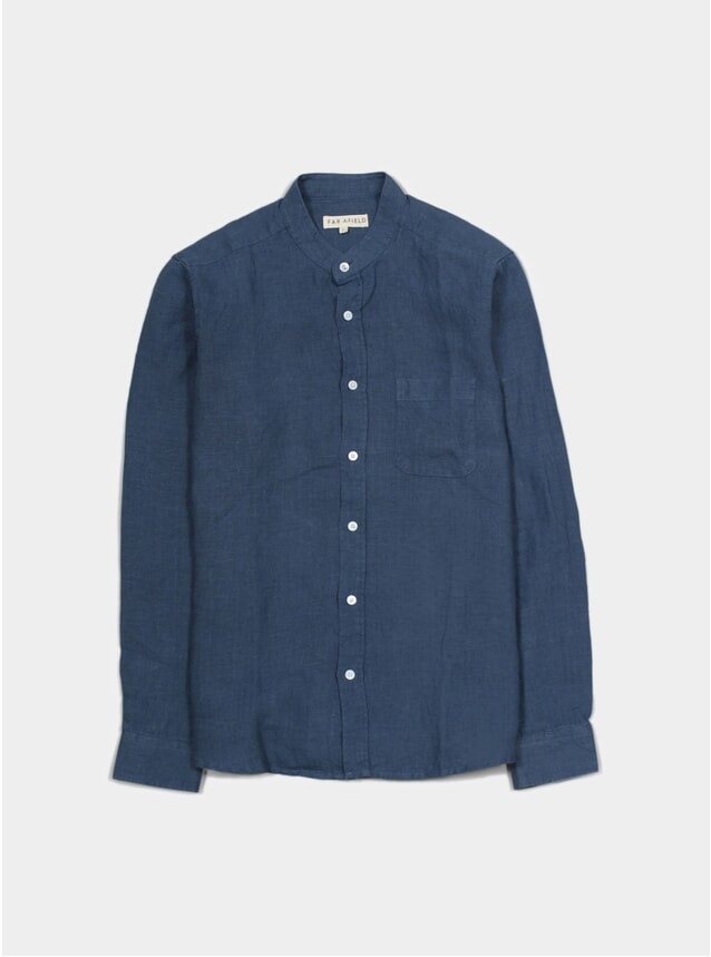 Ensign Blue Twombly Shirt