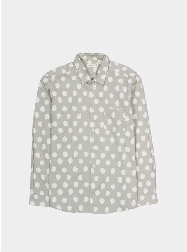 Grey Smudge Classic Shirt