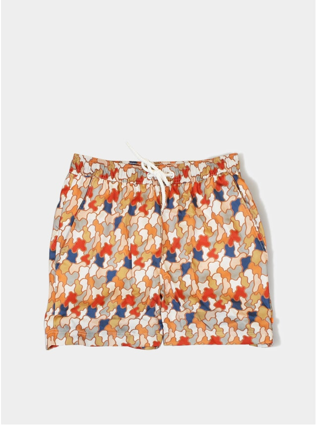 Jazz Camo Printed Swim Shorts