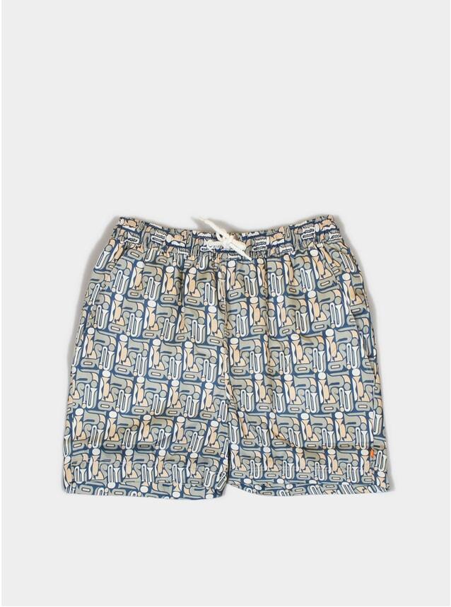 Modazz Printed Swim Shorts