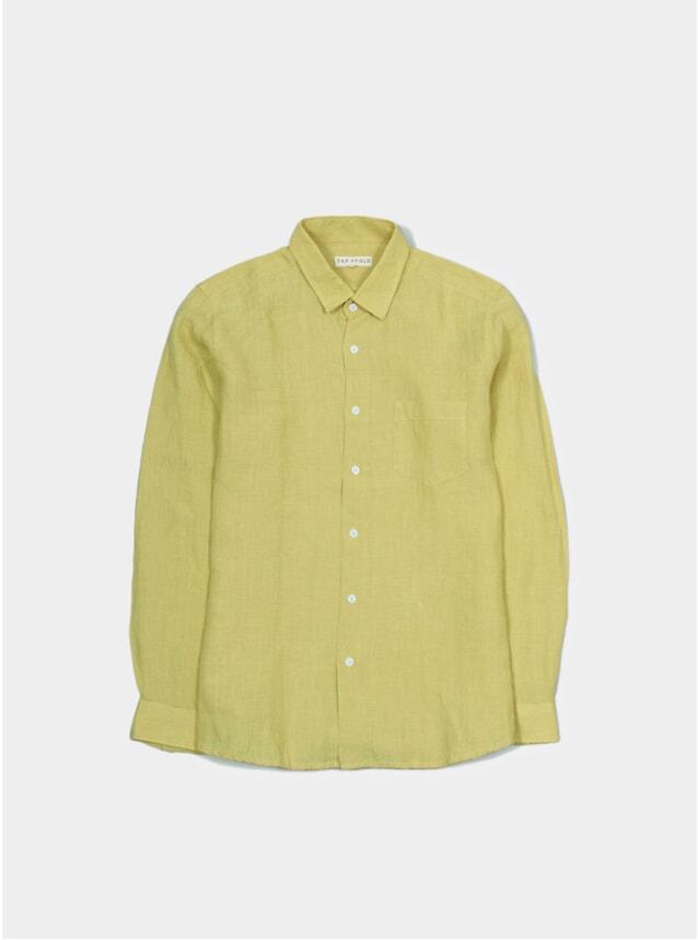 Olivenite Linen Classic Shirt