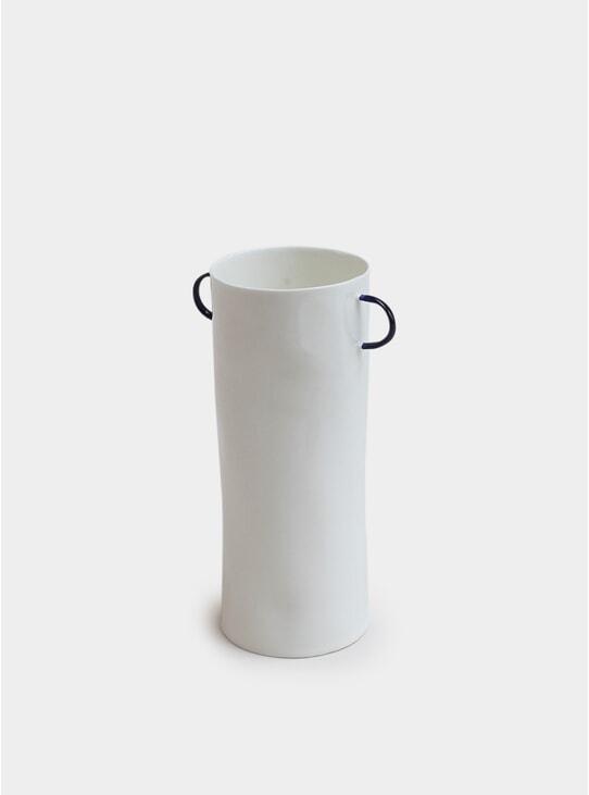 Cobalt Vase W. Handles