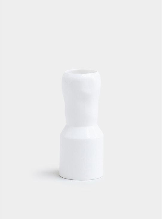 White Bunch Vase
