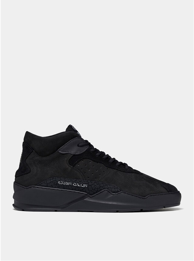 All Black Lay Up Icey Flow 2.0 Sneakers
