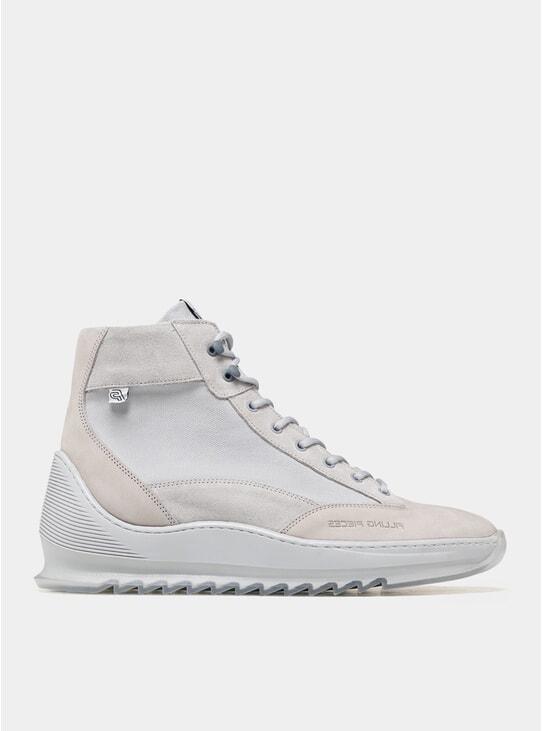 All Grey Mid Alpine Aten Heel Cap Boots