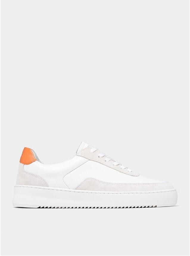 All White Mondo 2.0 Ripple Aspesi Sneakers