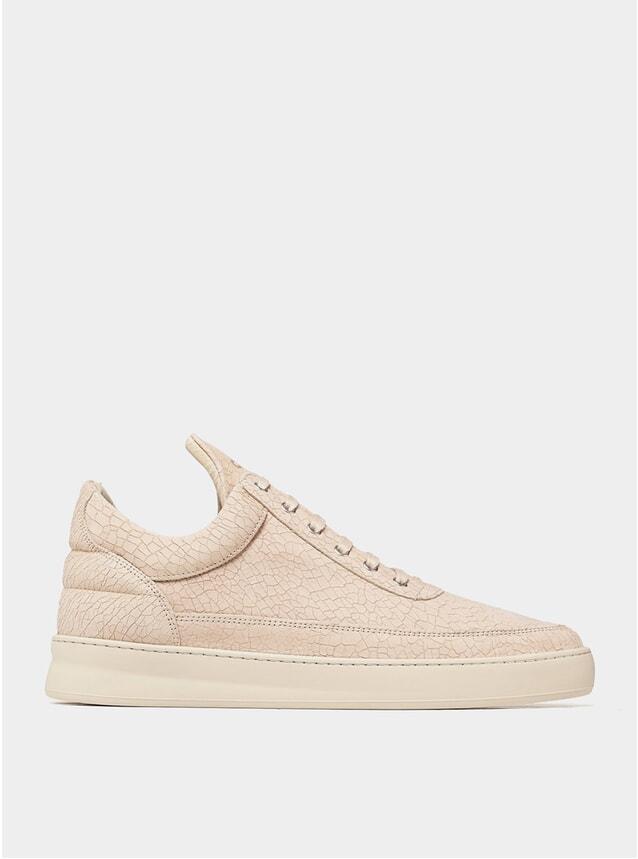 Beige Ceres Low Top Plain Sneakers