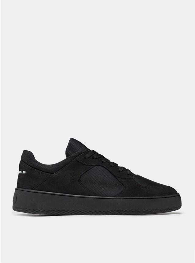 Black Low Cage GF Linus Sneakers